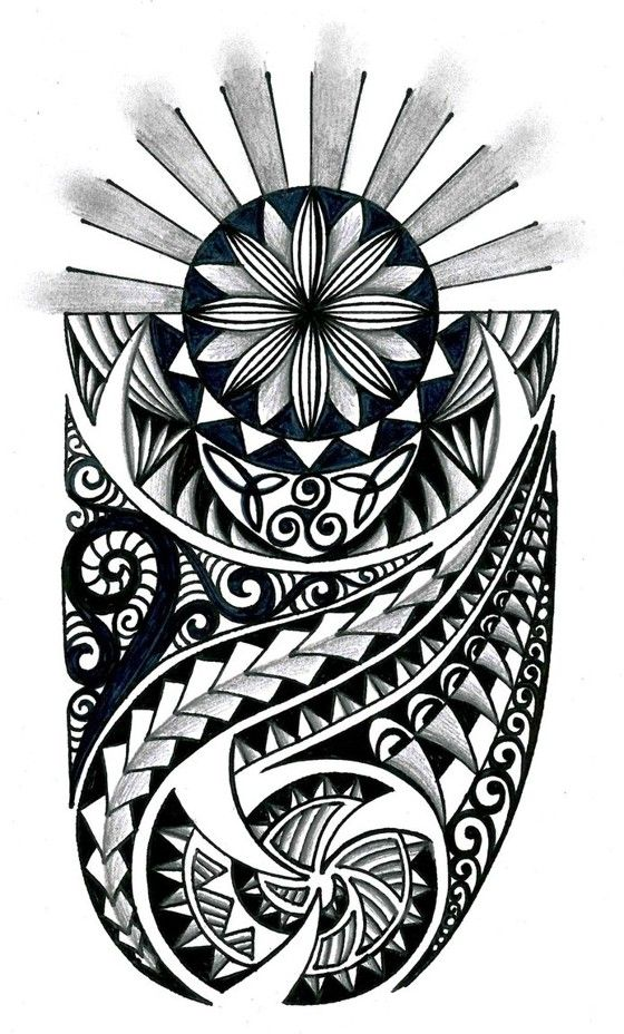 48 Coolest Polynesian Tattoo Designs.