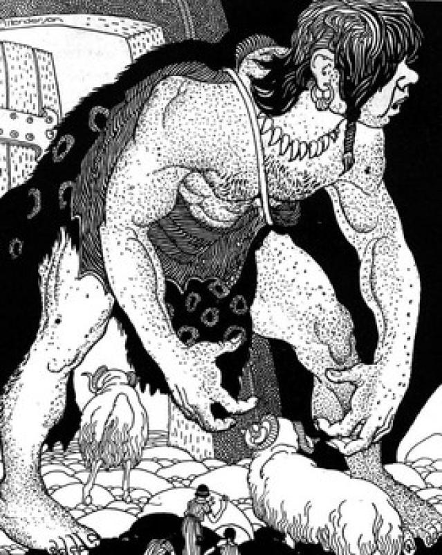 After Polyphemus Was Blinded He Couldn T Find Odysseus Men Hidden.