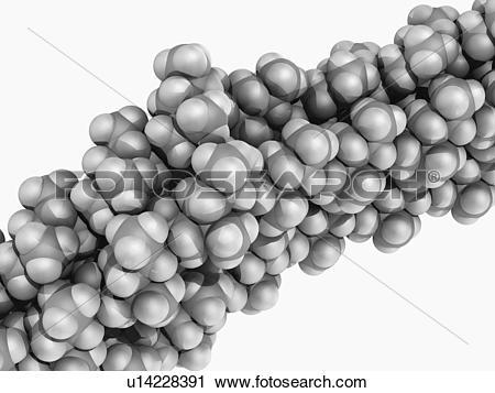 Clipart of Polypropylene molecule u14228391.