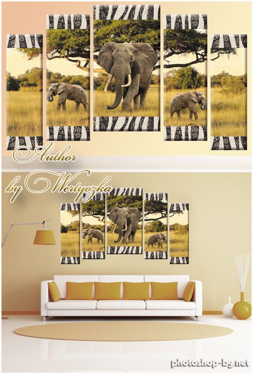 triptychs » Photoshop Tools.