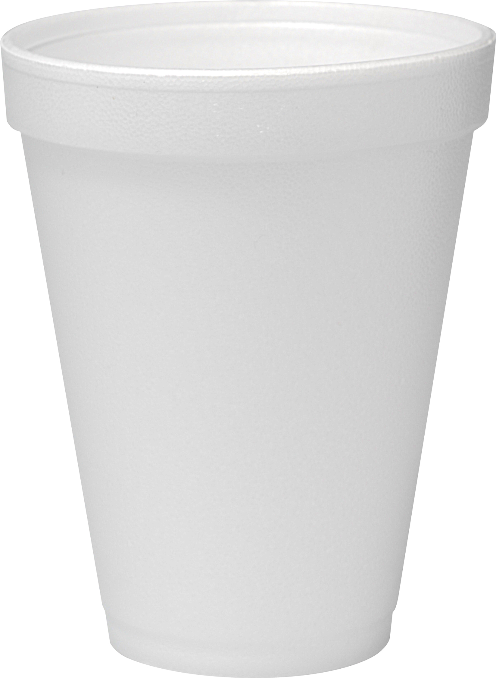 Styrofoam cup clipart black and white.