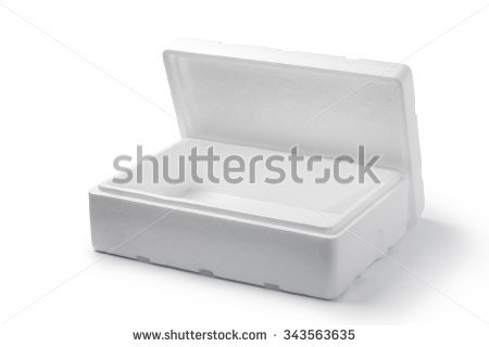 Polystyrene Stock Photos, Royalty.