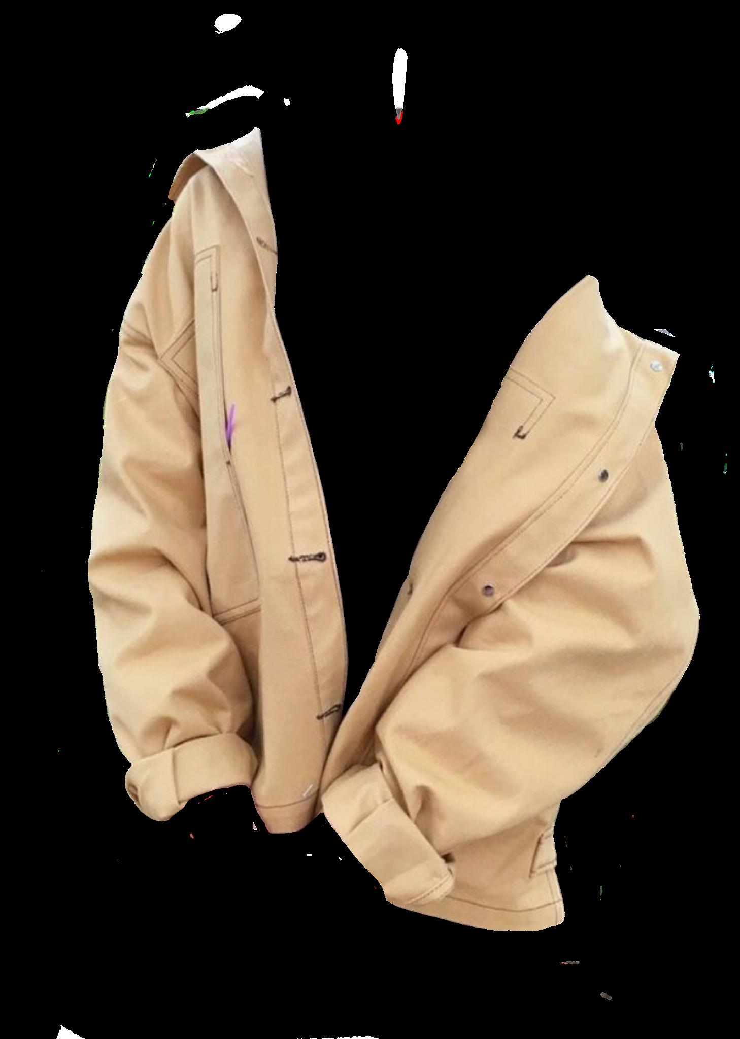 beige jacket / polyvore.