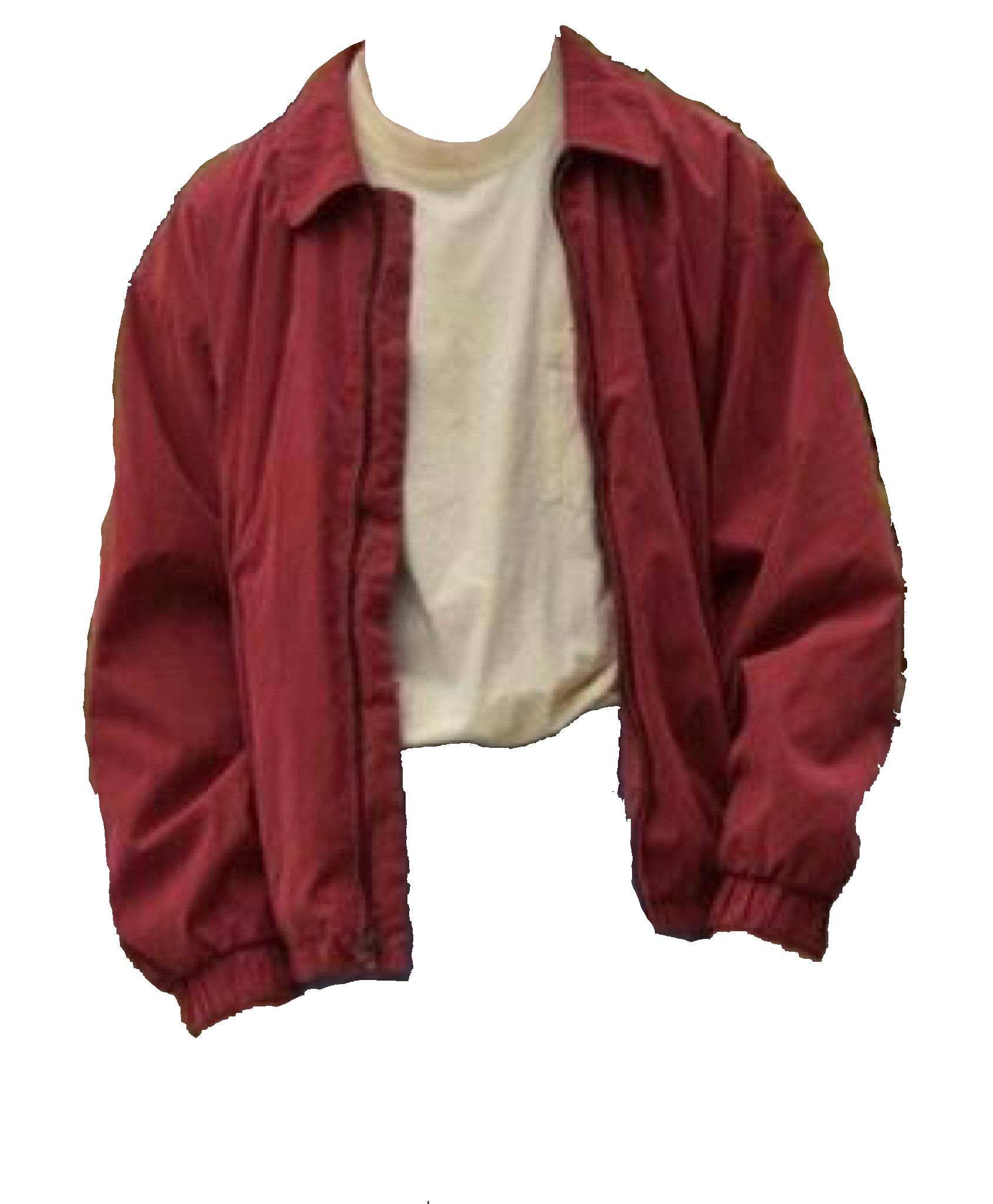 red jacket / polyvore.