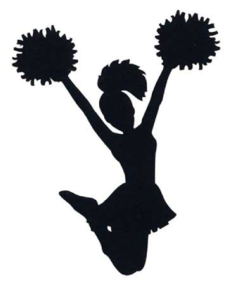 Cheerleading Pom Pom Clip Art.