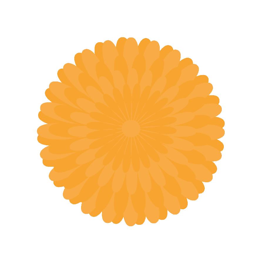 Yellow Pom Pom Clip Art.