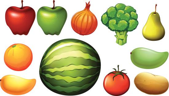 Pomaceous Clip Art, Vector Images & Illustrations.