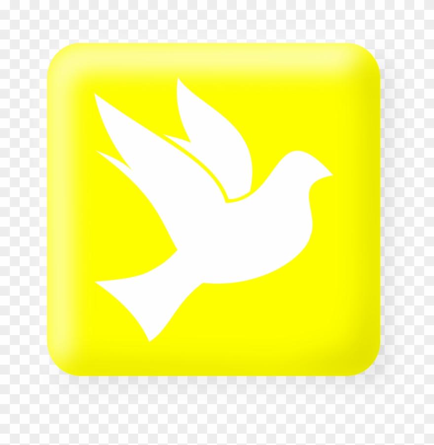A Pomba Representa O Batismo Com O Espírito Santo, Clipart.