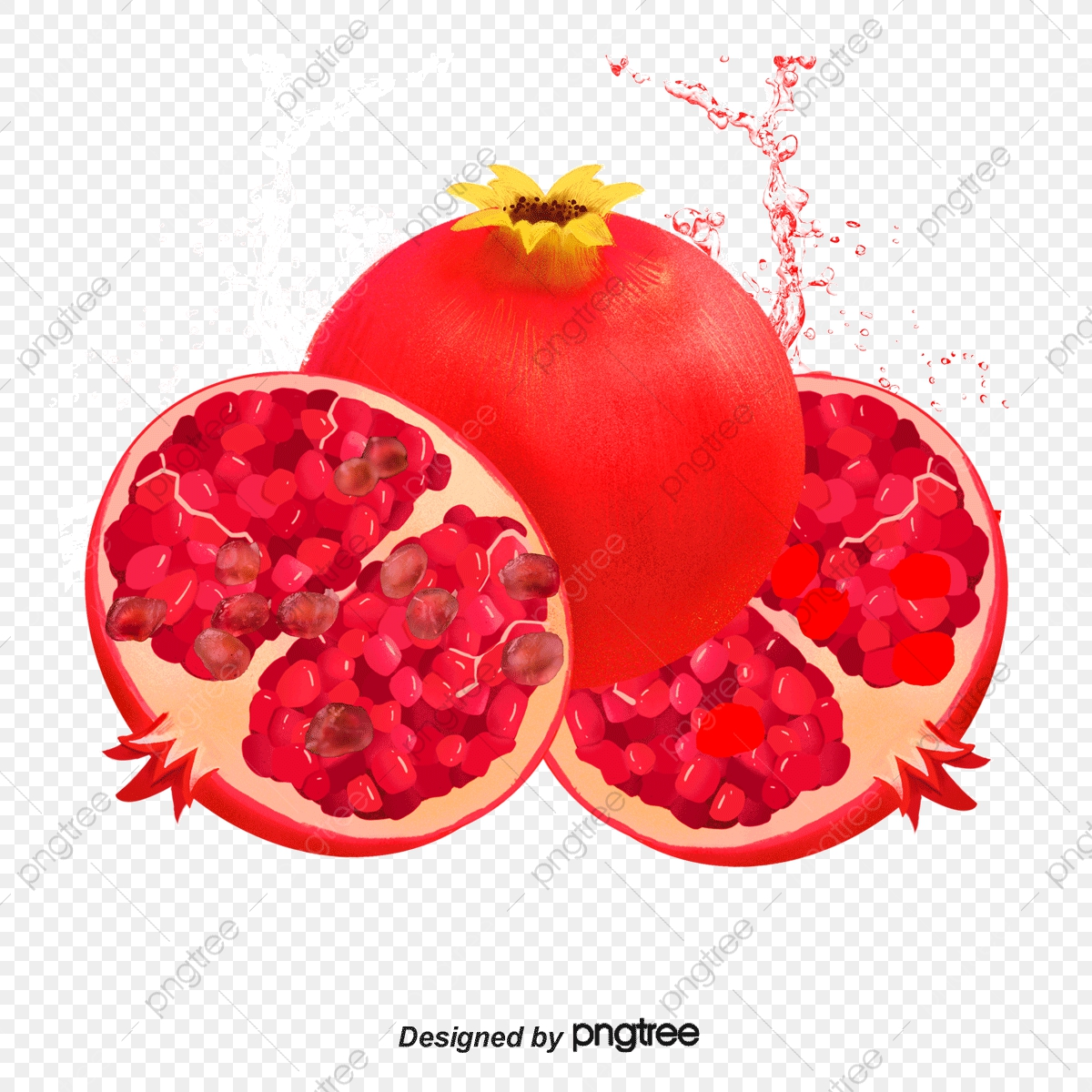 Pomegranate Fruit, Gules, Pomegranate, Fruits PNG.