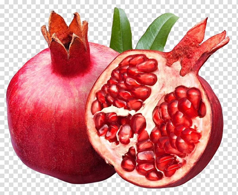 Two red pomegranates, Pomegranate juice Fruit , Pomegranate.