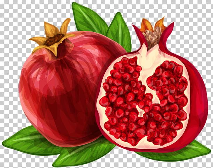 Pomegranate juice , Hand.