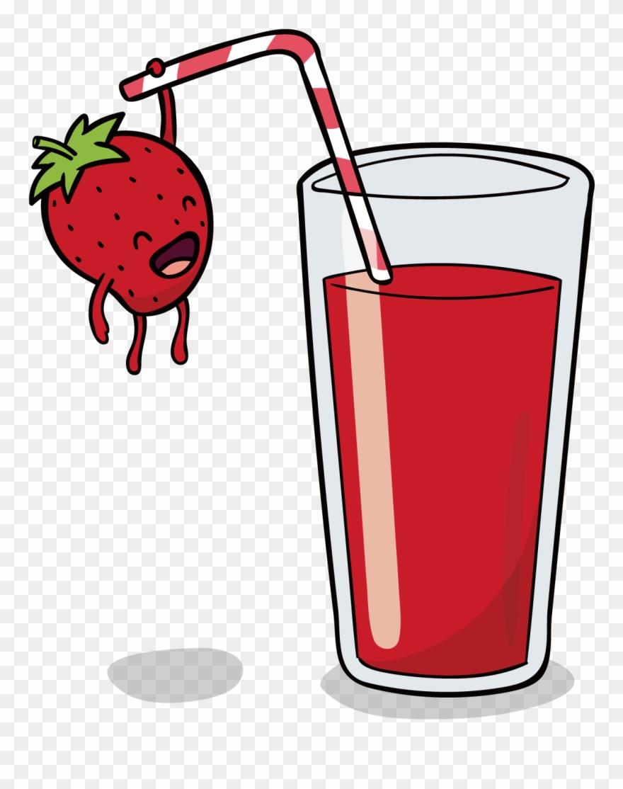 Orange Juice Smoothie Pomegranate Juice Strawberry Clipart.