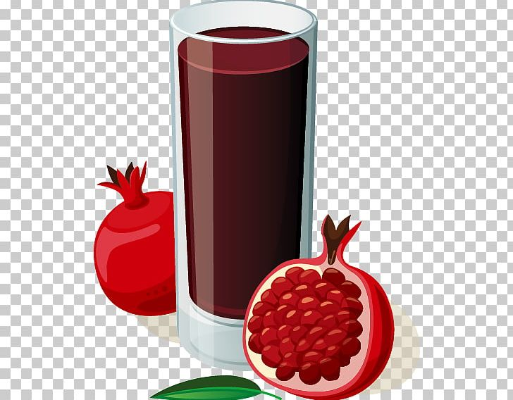 Pomegranate Juice Smoothie Fruit PNG, Clipart, Cartoon.