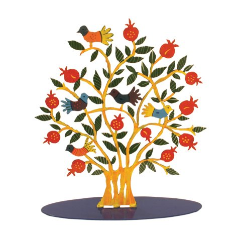 Pomegranate tree clipart.