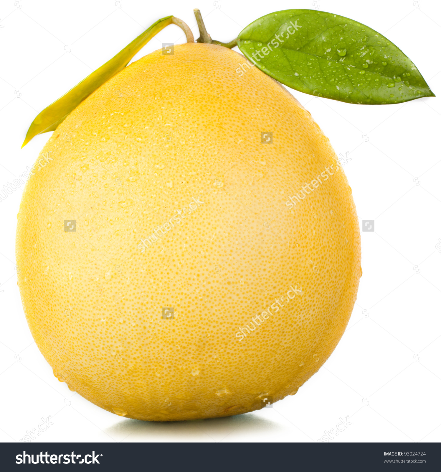 Fruit Pomelo Stock Photo 93024724.