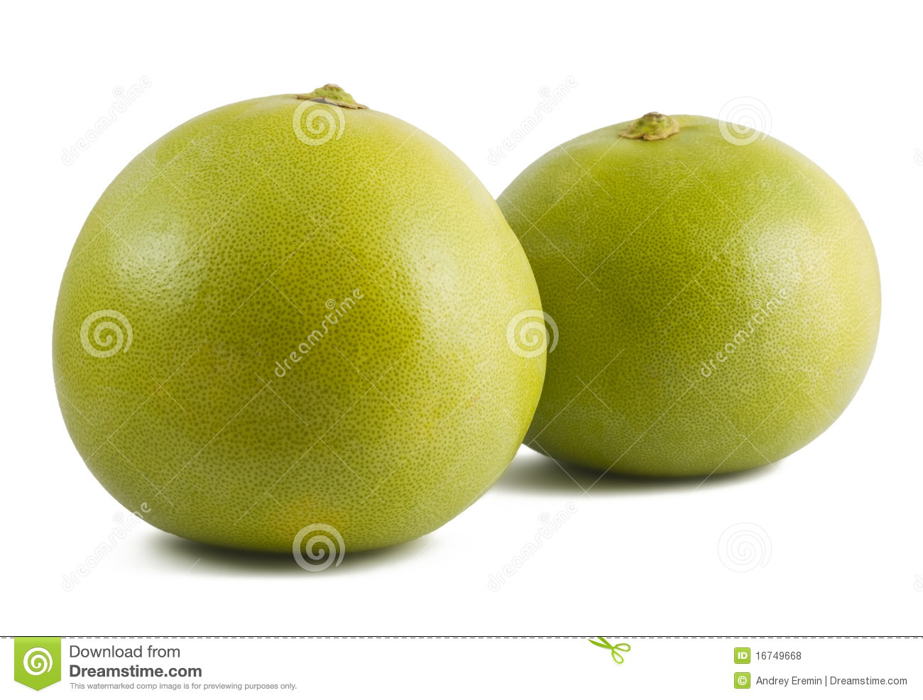 Pomelo Two Stock Image.