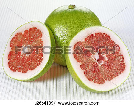 Picture of Red Pomelo Grapefruit u26541097.