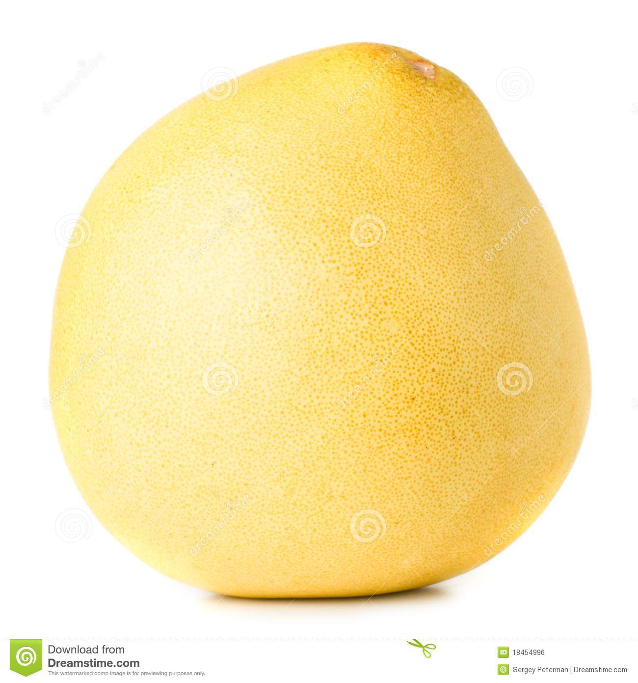 Chinese Pomelo Royalty Free Stock Image.