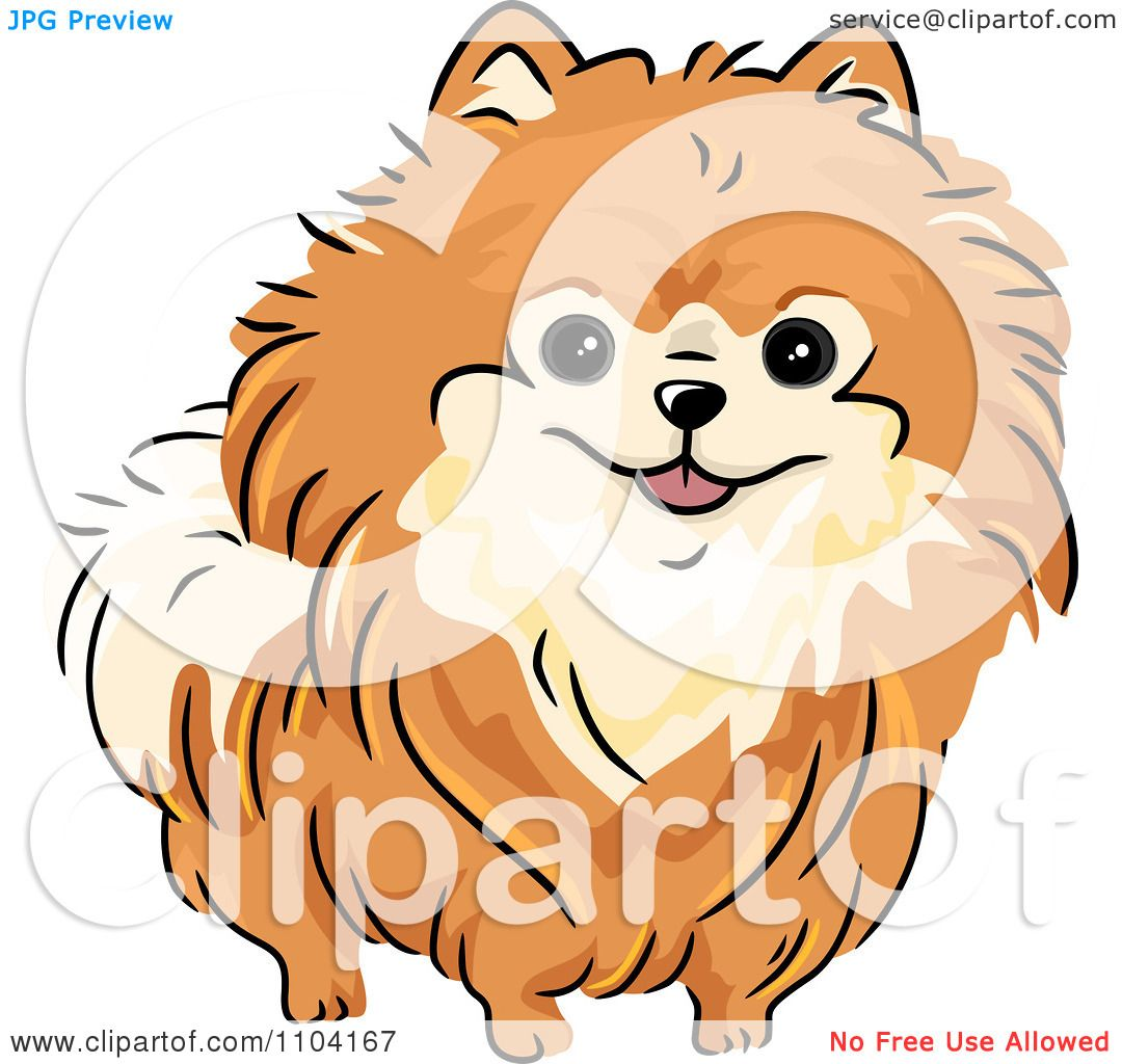 Similiar Pomeranian Black And White Clip Art Keywords.