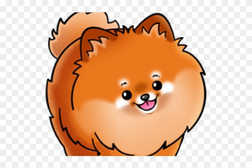 Pomeranian Clipart Head.
