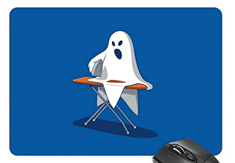 Amazon.com : Mouse Mat Ghost Ironing Clothes Mousepad.