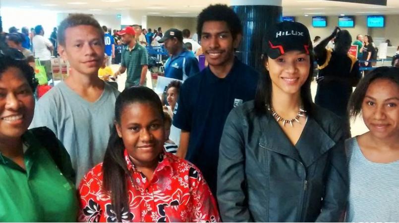 POMIS students represent PNG in Japan Science Program.