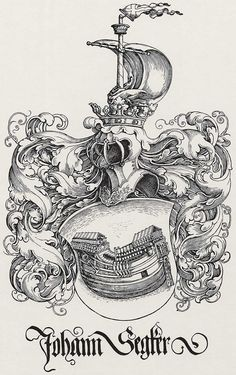 Antique Prints of Heraldic Crests 1790.