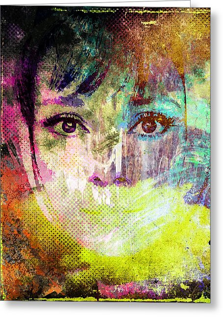 Zeichnung Mixed Media Greeting Cards for Sale.
