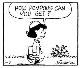 Pompous Clipart.