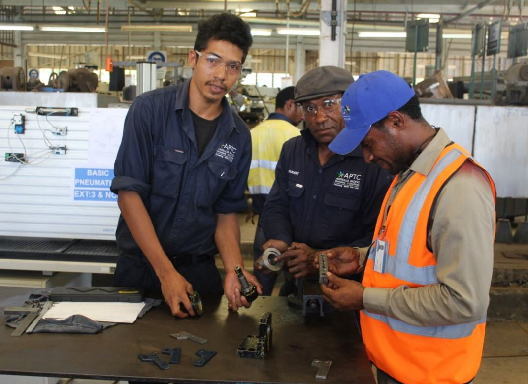 APTC and Port Moresby Technical College (PomTech) hosted the.