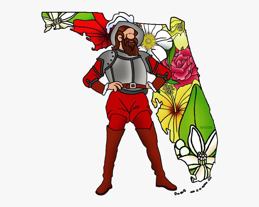 Ponce De León And Florida.