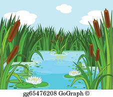 Pond Clip Art.