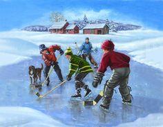 84 Best Pond Hockey images.