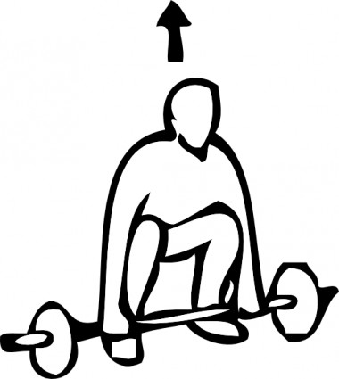 Weight Lifting Clip Art Download.