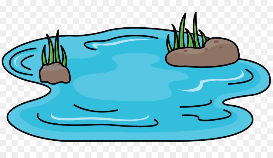 Pond Cartoon.