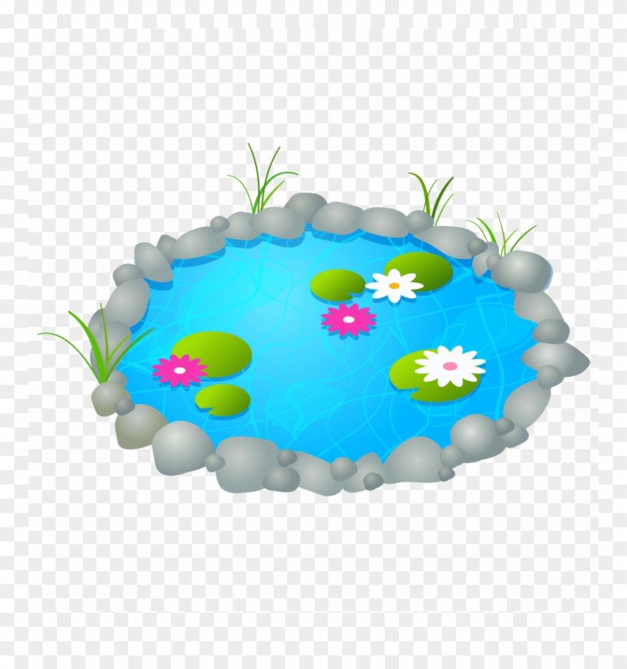 Download Garden Pond Clipart Png Photo.