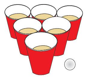 Beer Pong Clip Art.