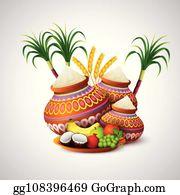 Pongal Clip Art.