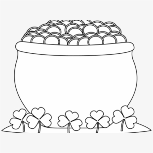 Pot Of Gold Clipart Real.