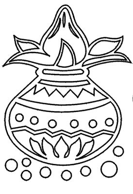 Pongal black and white clipart 3 » Clipart Station.