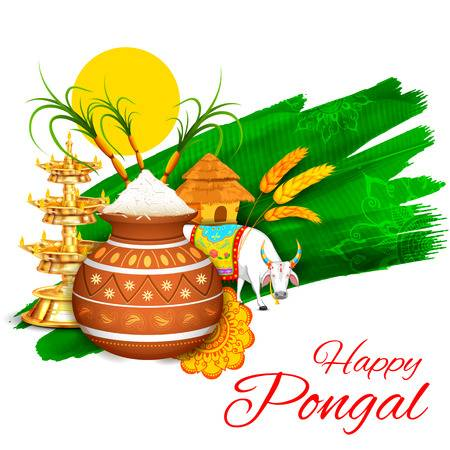 Pongal Clipart.