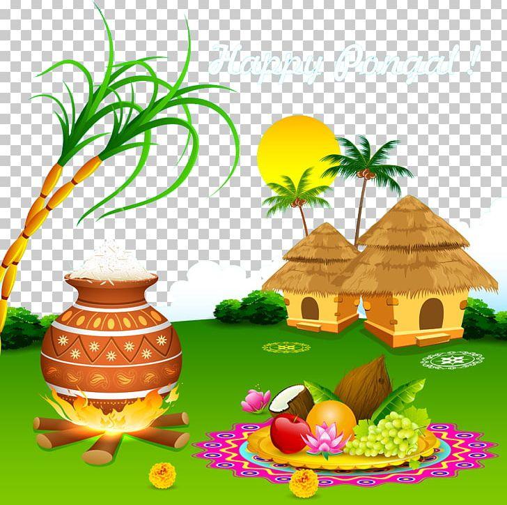 Thai Pongal Makar Sankranti Wish Mattu Pongal Harvest.