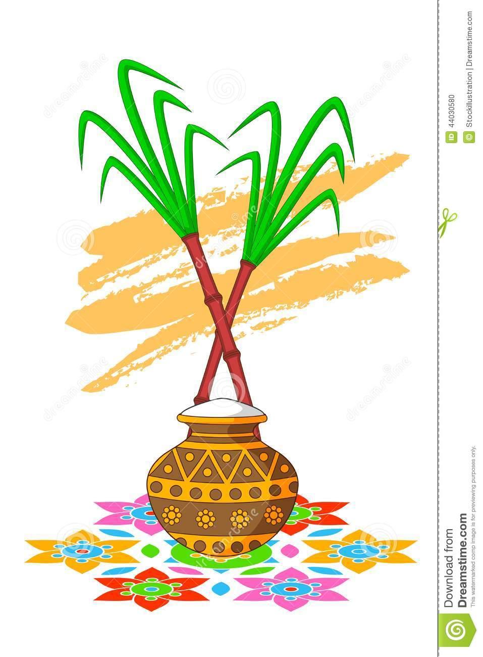 Pongal Pot Clipart Png.
