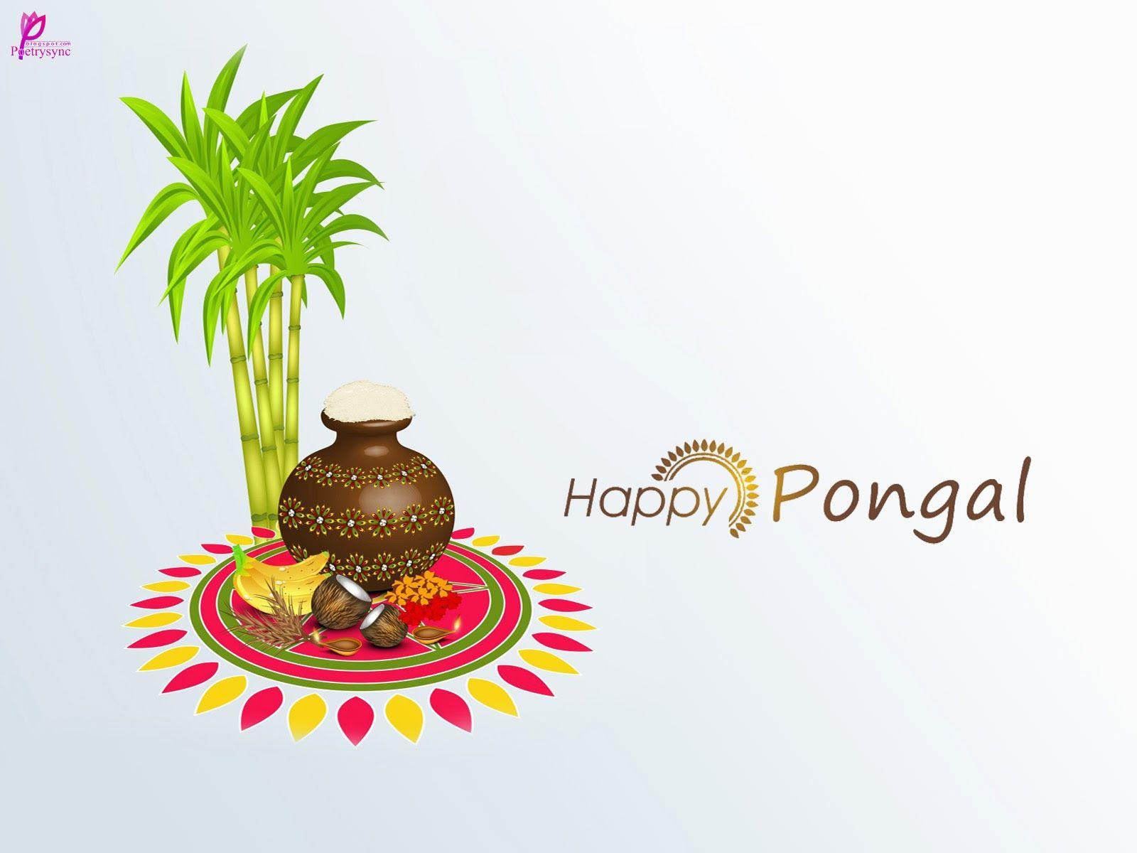 Happy Pongal Wishes Image.