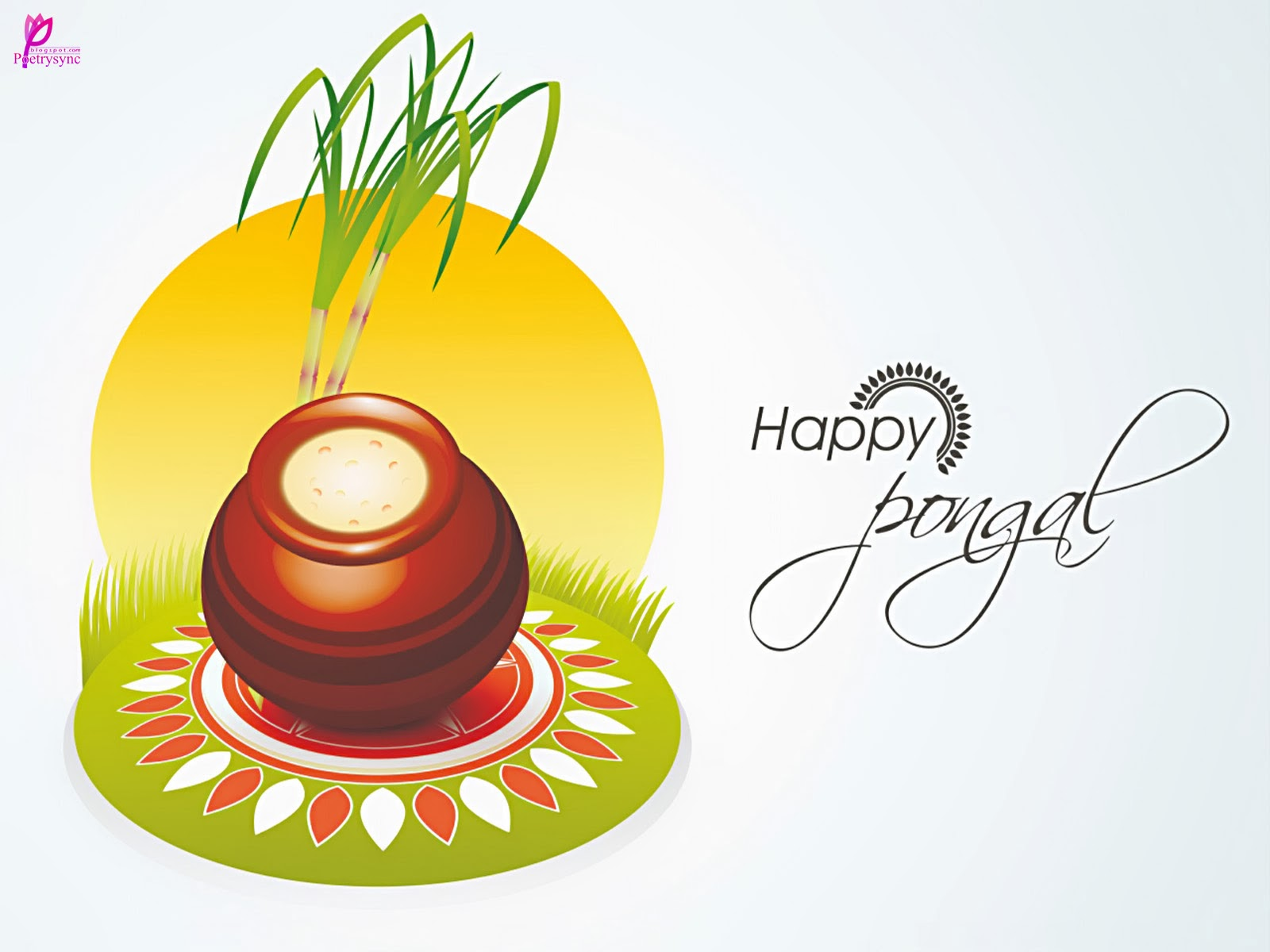 Pongal Background Wallpaper.