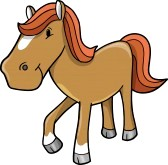 Pony rides clipart.