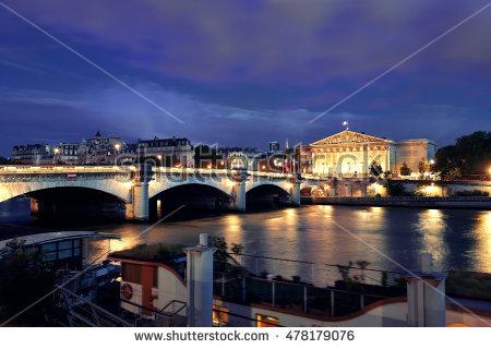 Pont De La Concorde Stock Photos, Royalty.