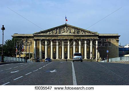 Picture of France, Paris (75), Ile de France, pont de la concorde.