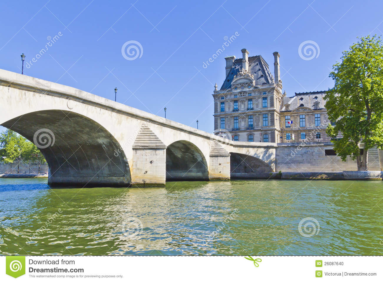 Pont Du Carrousel Paris France Stock Photos, Images, & Pictures.