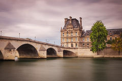 Pont Du Carrousel In Paris Stock Image.